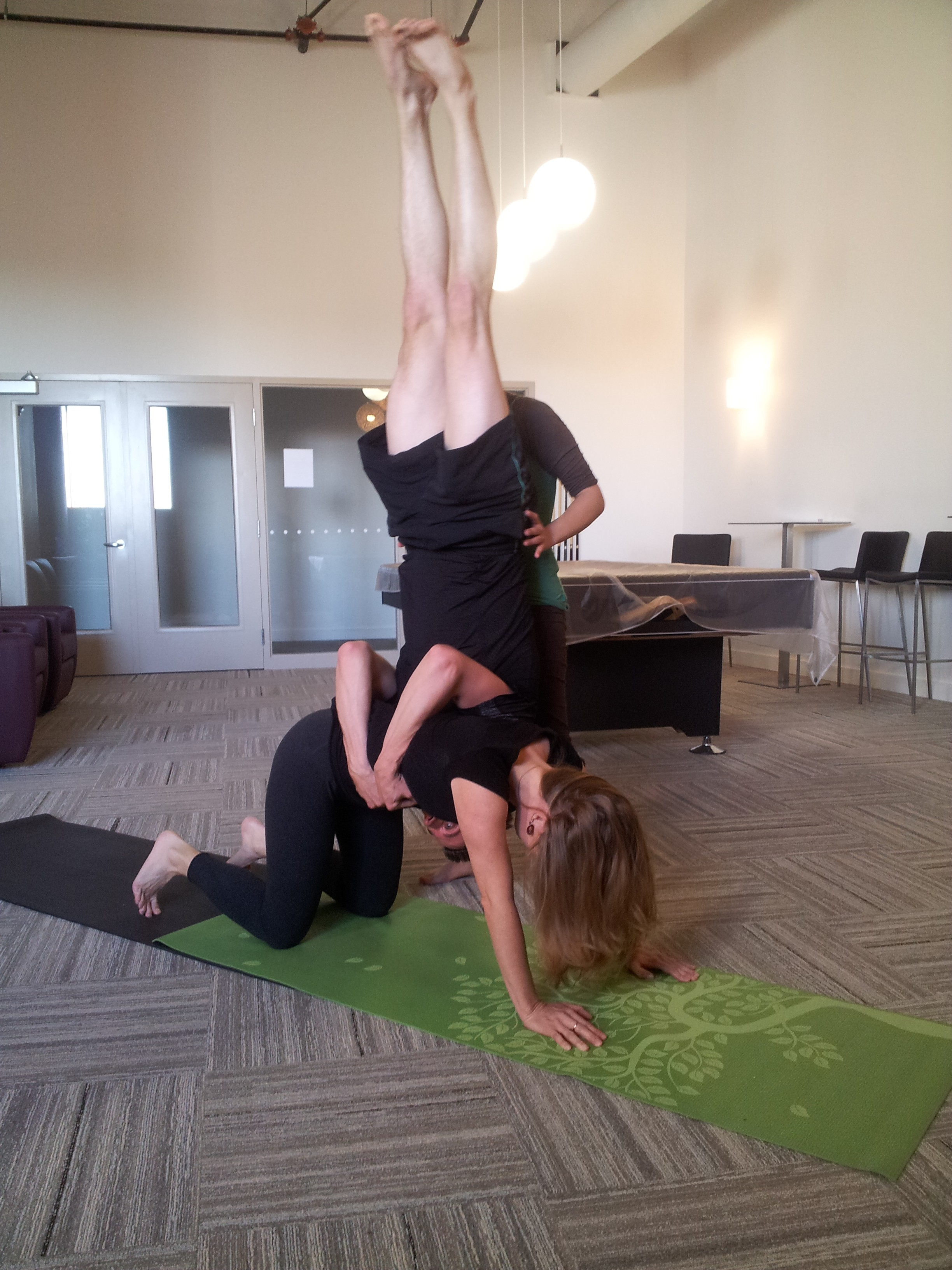 Even more acro yoga