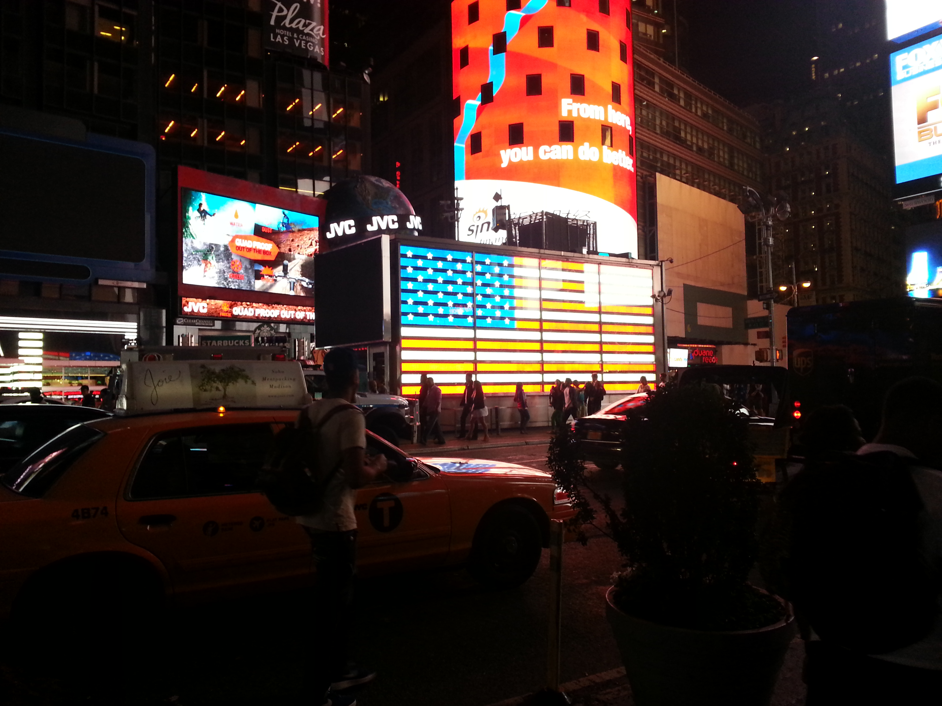 Times square recruiting centre