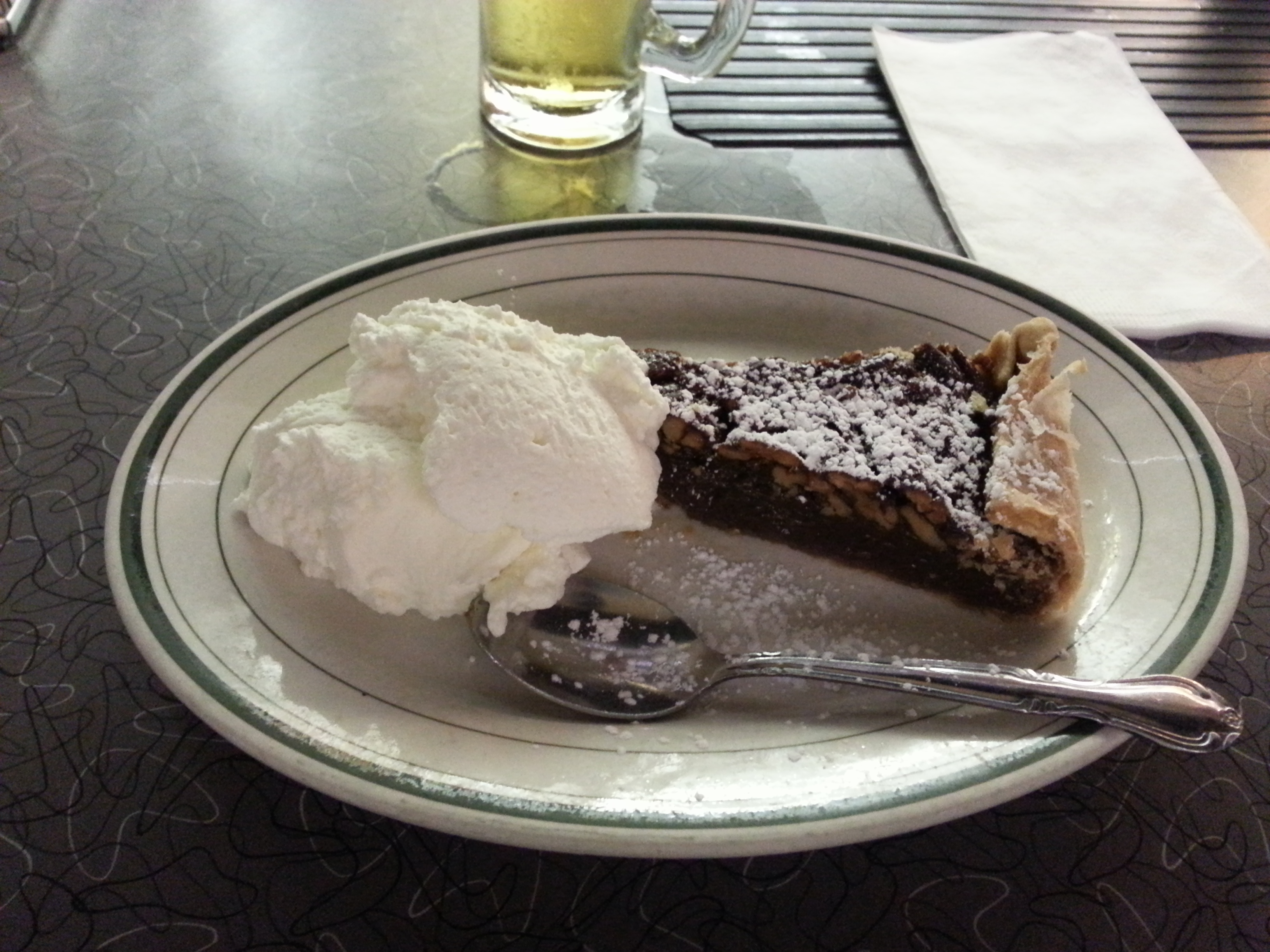 Pecan Pie was Trip Tucker's (Star Trek Enterprise) favourite dish and I wanted to experience it.