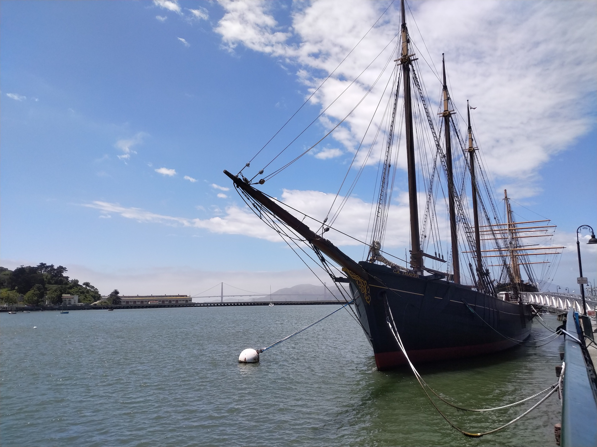 Found a tall ship
